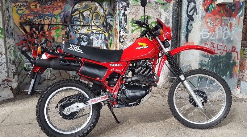 Honda XL500R 1982