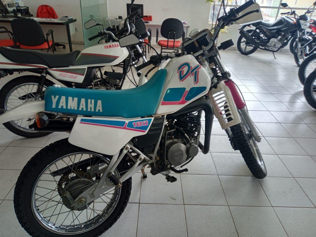 Yamaha DT 180Z 1990 com apenas 4.000 km rodados