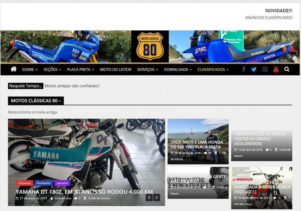 anuncios classificados motos classicas