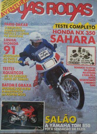 revista duas rodas lançamento NX350 Sahara